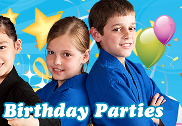 Kickn Karate Birthday Parties for Kids Leavenworth Kansas
